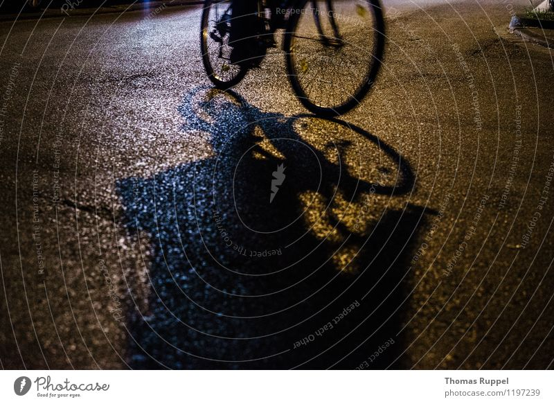Cycling at night Leisure and hobbies Night life Event Going out Human being 1 Town Downtown Means of transport Traffic infrastructure Street Crossroads