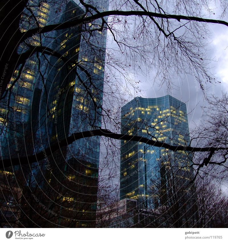 City Window Architecture Building Work and employment Glass Facade Energy industry Tall Concrete Large Speed High-rise Success Might Telecommunications