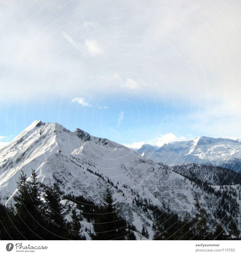 Sky Nature White Sun Tree Landscape Clouds Winter Forest Mountain Snow Rain Weather Peak Level Alps