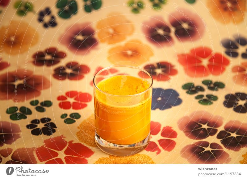 Carrot Juice with colorful Background Food Vegetable Beverage Healthy Healthy Eating Fitness Wellness Life Cure Glass Fresh Delicious Juicy Multicoloured Yellow