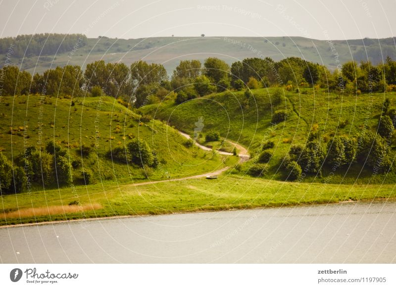 Nature Vacation & Travel Summer Sun Relaxation Landscape Mountain Travel photography Lanes & trails Coast Horizon Weather Tourism Copy Space Romance Footpath