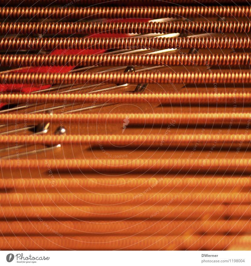 tones Art Work of art Music Piano Jewellery Line String Listening Playing Fat Thin Glittering Round Orange Creativity Culture Concert Opera Style Design
