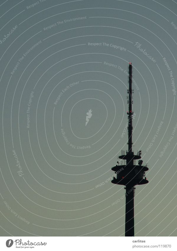 Architecture Large Modern Vantage point Television Telecommunications Tower Media Radio (broadcasting) Elevator Antenna Welcome Television tower Transmit Broadcasting