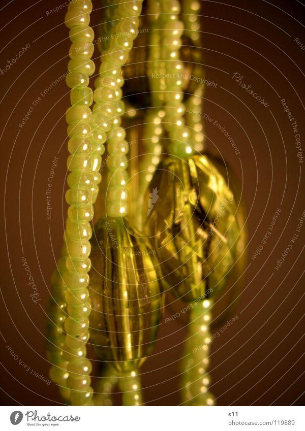 Green Jewellery Diamond Glittering Decoration Macro (Extreme close-up) Close-up Beautiful Luxury Chain Kitsch Sphere Pearl