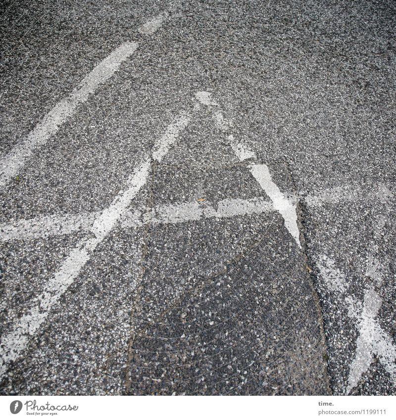 Dizzy. Diverse interpretations. Transport Traffic infrastructure Lanes & trails Road sign Asphalt Tar Decoration Sign Characters Line Passion Orderliness Stress