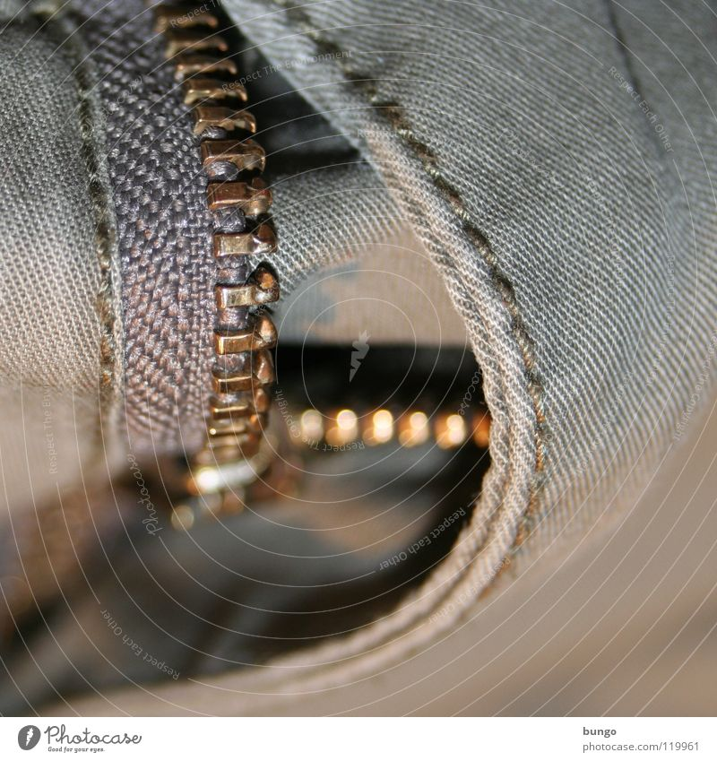 Clothing Jeans Open Pants Cloth Pull Forget Undo Stitching Zipper Embarrassing Pants zipper