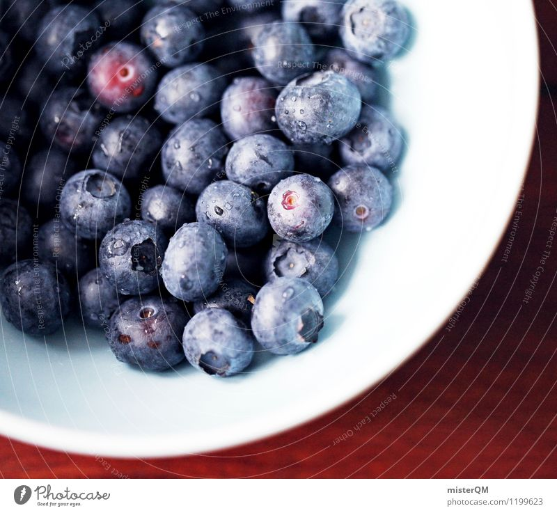 Breakfast delicacies I Food Esthetic Contentment Many Berries Morning break Blueberry Cereal Bowl Delicious Food photograph Appetite Breakfast table