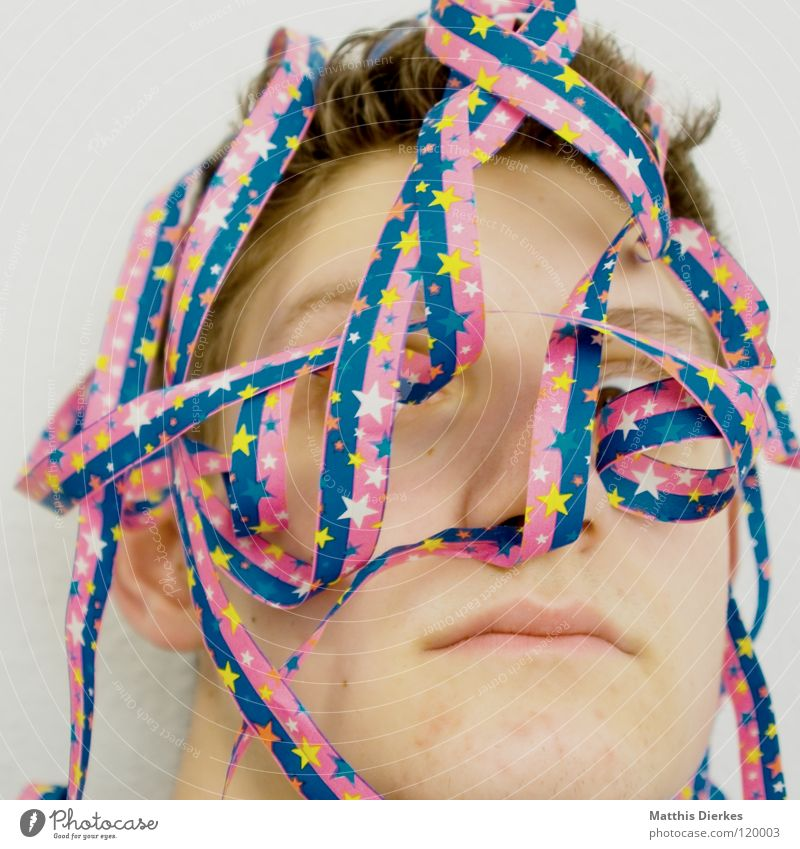Tarred and sprung February March November Paper streamers Adorned Portrait photograph Happiness Squint Preparation Paper chain Embellish Childrens birthsday