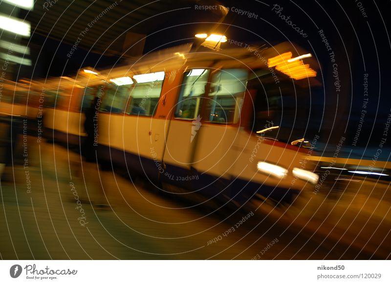 Human being Dark Window Movement Time Lamp Door Wait Dangerous Speed Threat Railroad Lawn Target Driving Haste