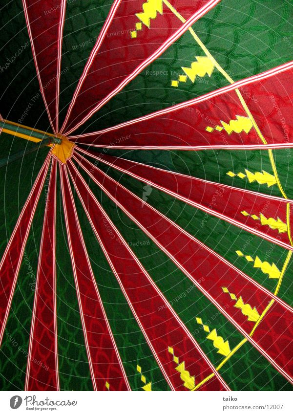 Green Red Yellow Munich Tent Morocco Nomade Tent ceiling