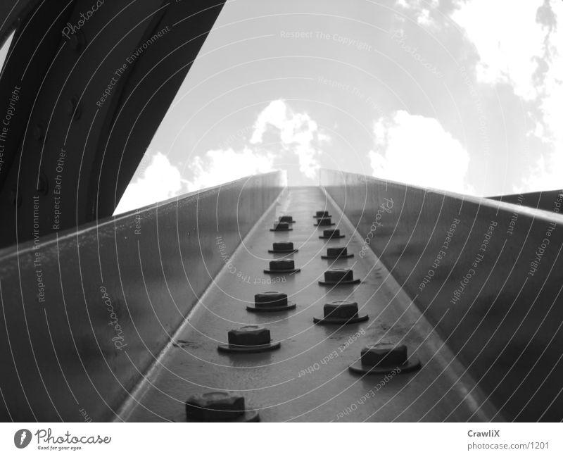 pipe Architecture Sky Railroad