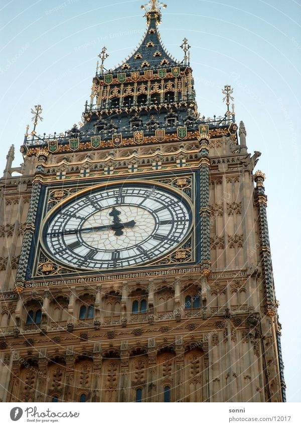 Big Ben London Clock Bell Great Britain England Historic Tower Bell tower Europe.
