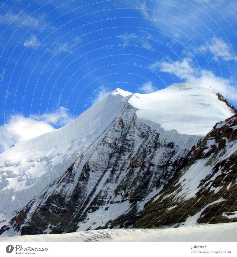Big Mountain IV Sky Snow Wind Hiking Going Mountaineering Climbing Switzerland heaven Rock Walking