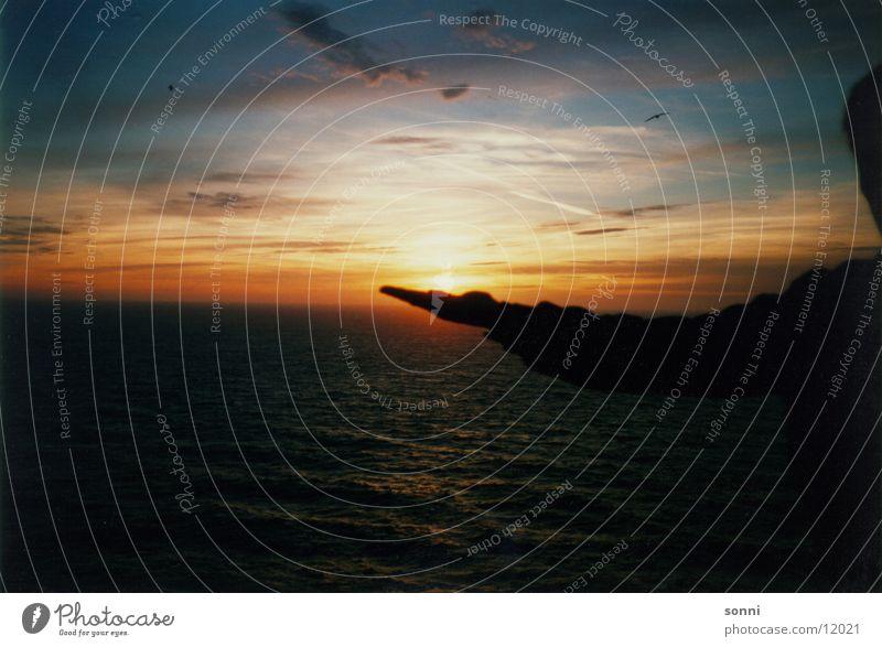 Hand Water Sky Sun Ocean Dusk