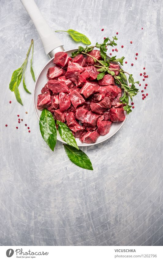 Healthy Eating Style Background picture Food Design Fresh Nutrition Table Cooking & Baking Herbs and spices Kitchen Organic produce Meat Dinner Lunch Cube