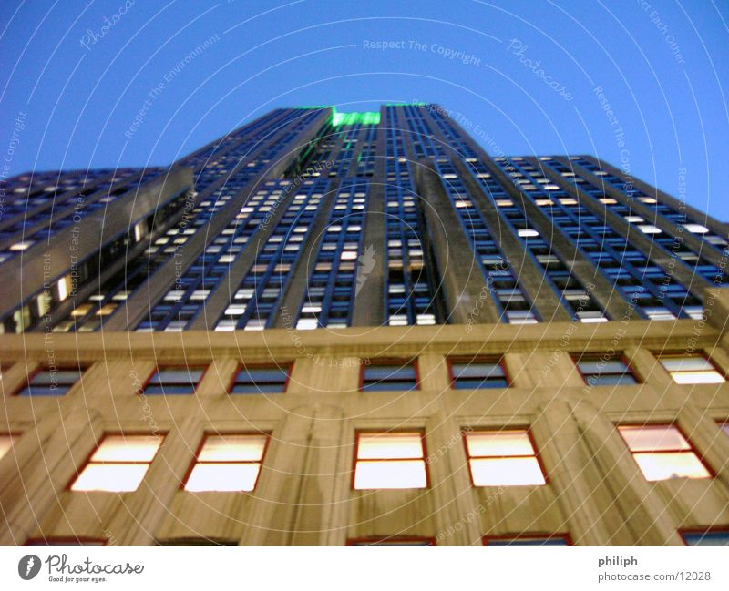 House (Residential Structure) Architecture High-rise USA Manhattan York
