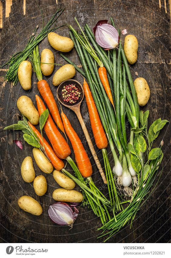 Healthy Eating Life Style Background picture Food photograph Food Design Nutrition Herbs and spices Vegetable Organic produce Appetite Ecological Dinner Diet Vegetarian diet