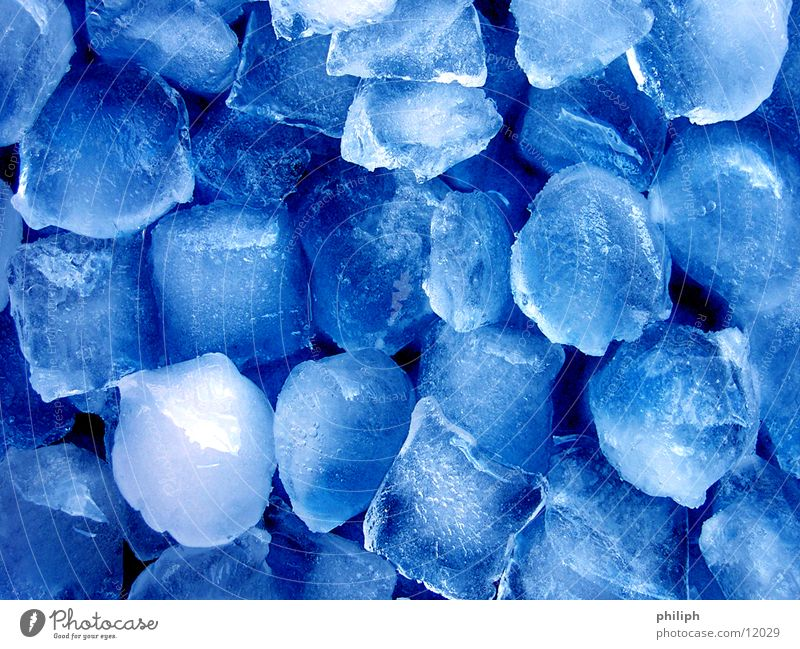 Blue Water Winter Cold Snow Background picture Ice Nutrition Cool (slang) Refreshment Freeze Cube Express train Ice cube