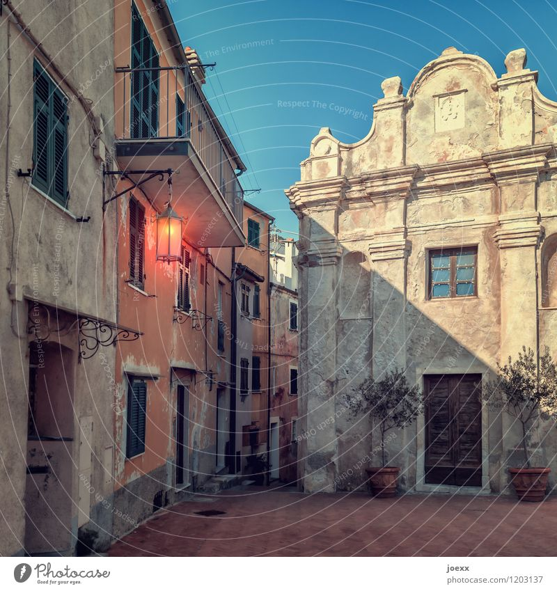 Come on. Vacation & Travel City trip Sky Tellaro Village Old town House (Residential Structure) Wall (barrier) Wall (building) Facade Historic Idyll Nostalgia