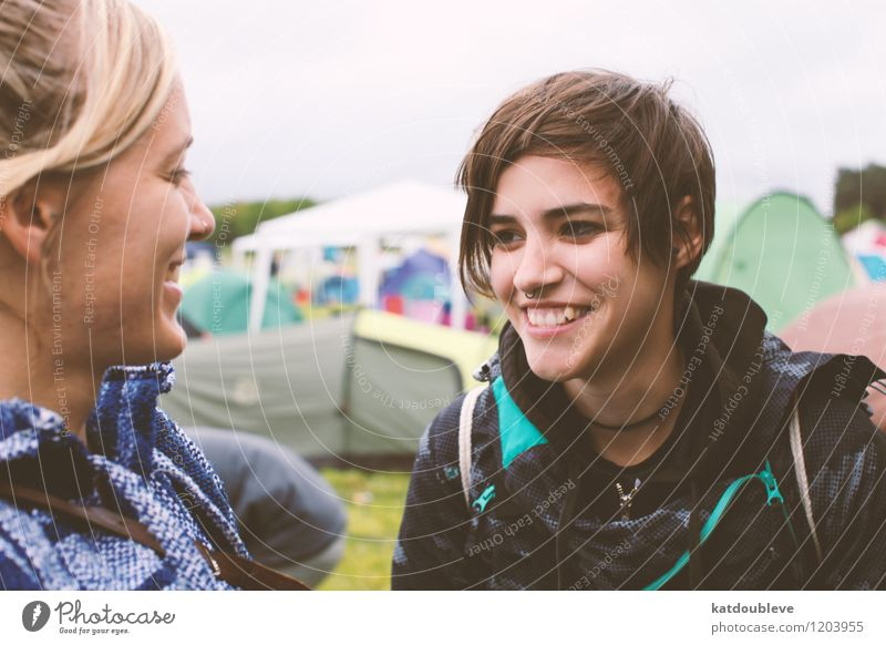 hello, I've waited here for you Feminine Androgynous Homosexual Smiling Laughter Looking Authentic Free Friendliness Happiness Together Beautiful Contentment