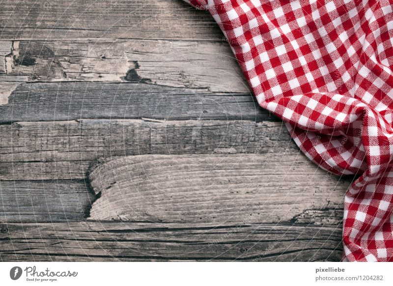 Table set you up Picnic Flat (apartment) Arrange Interior design Decoration Kitchen Restaurant Eating Gastronomy Cloth Wood Brown Red White Tablecloth Checkered