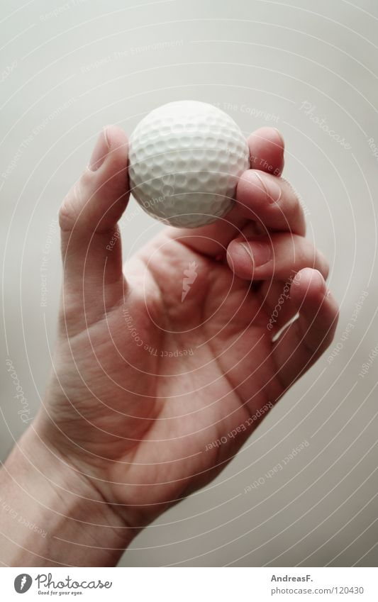 Hand Joy Fingers Ball Round Leisure and hobbies Catch Golf To hold on Door handle Handicapped Ball sports Golf ball Golfer