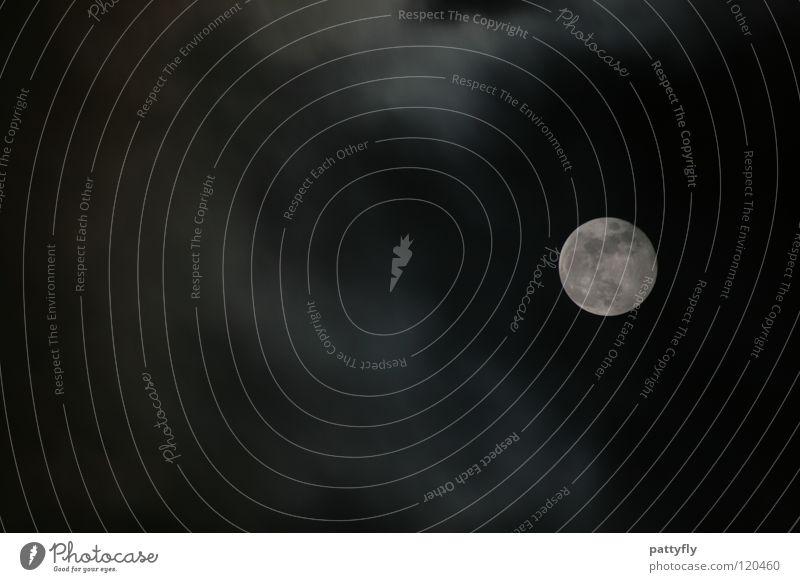 Sky Clouds Dark Bright Moody Lighting Moon Hallowe'en Bad weather Celestial bodies and the universe Full  moon Sleepwalk