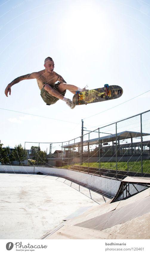 Leisure and hobbies Driving Skateboarding Austria Punk rock Salto Funsport Ramp Amusement Park Extreme sports Sports ground Kickflip Dornbirn Air