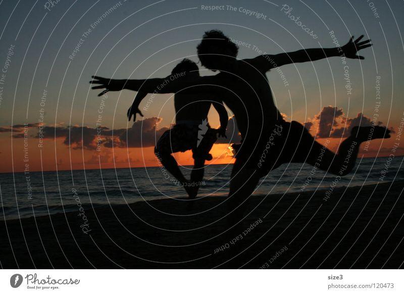 Ocean Beach Italy Balance Circus Sicily