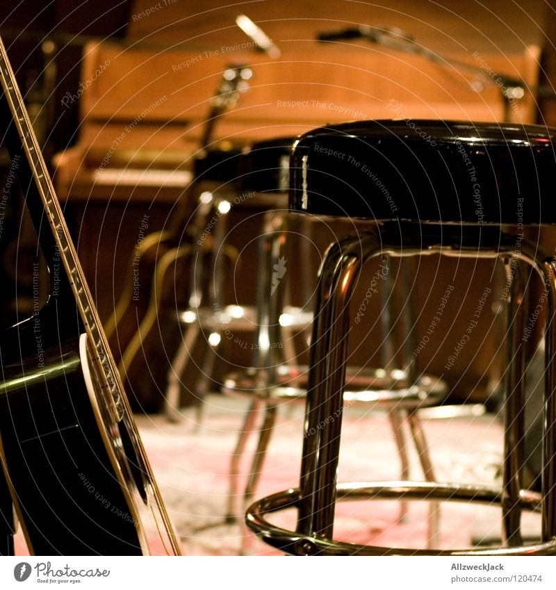 unplugged Music Music unplugged Stool Stage Piano Break Concert Microphone Guitar Chair half Wait before the gick