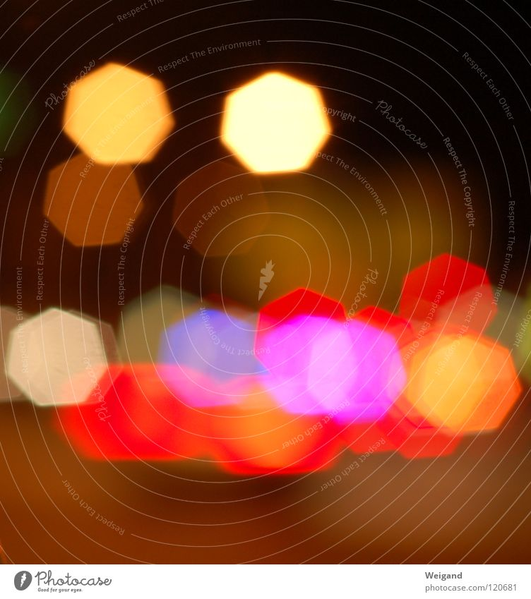 sparkle Light Night Transport Glittering Red Sharp-edged Round Fire Blaze Star (Symbol)