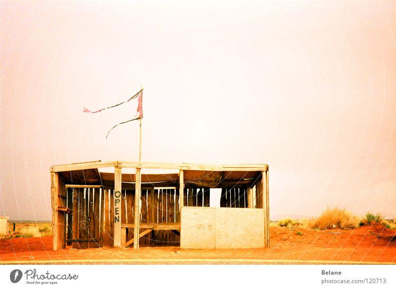 Red Sand Flag Desert Locust Capitalism