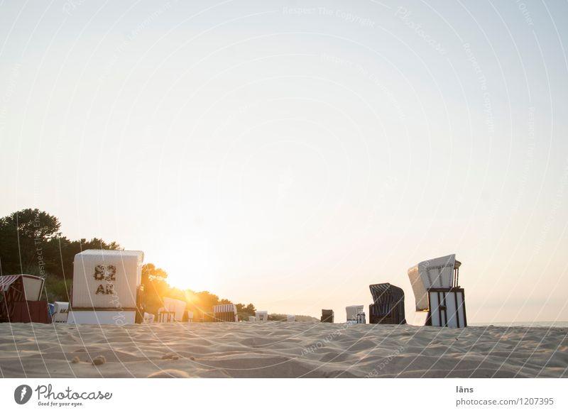 Vacation & Travel Sun Ocean Beach Sand Tourism Baltic Sea Beach chair Maritime