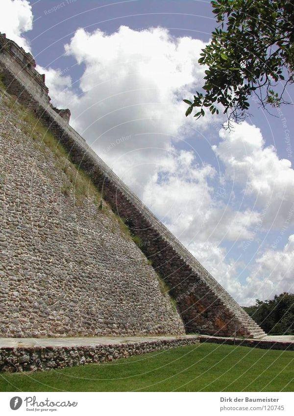 Pyramid of the Wizard Aztec Maya Magician Temple Deities Mexico Historic worship