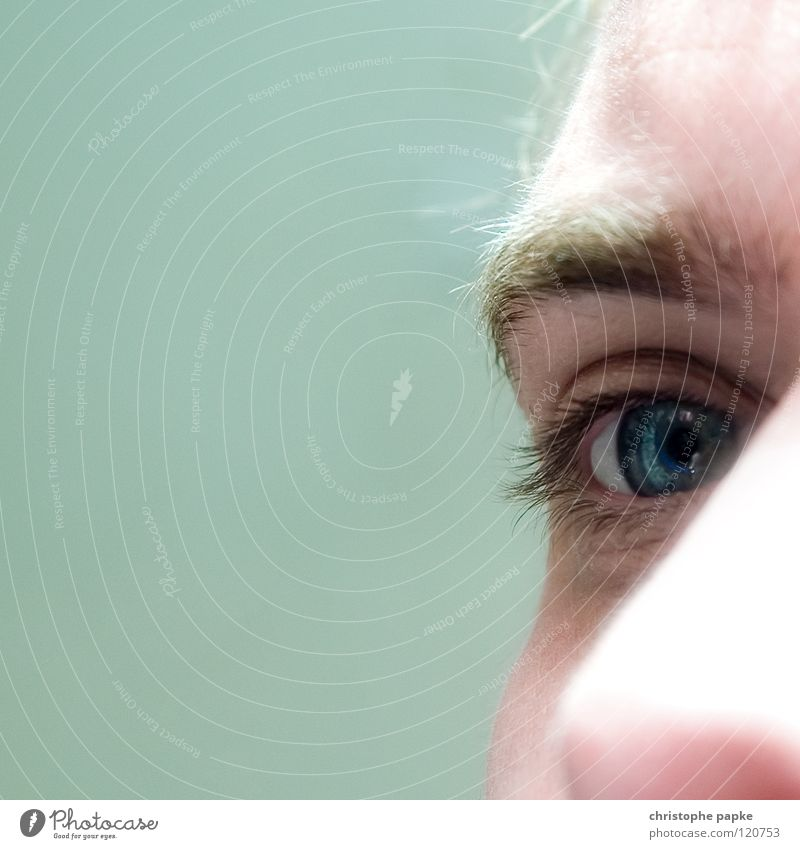 Man Youth (Young adults) White Blue Eyes Adults Nose Near Senses Eyelash Eyebrow Pupil Overexposure 18 - 30 years
