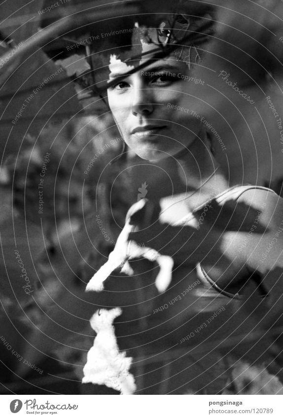 Woman Youth (Young adults) Beautiful Feminine Model Vineyard Gritty