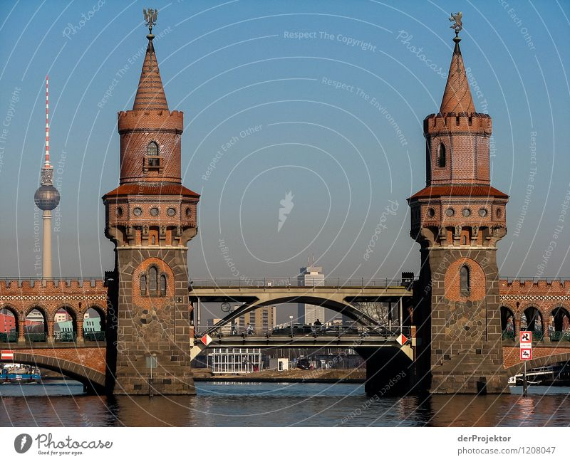 Vacation & Travel Architecture Emotions Building Berlin Tourism Transport Authentic Bridge Tower Manmade structures Skyline Capital city Landmark Monument