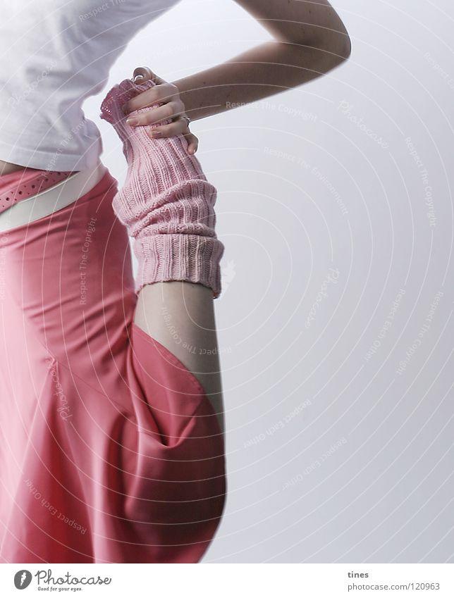 Hand Feet Dance Power Pink Force Ballet Dancer Cuffs or leggings
