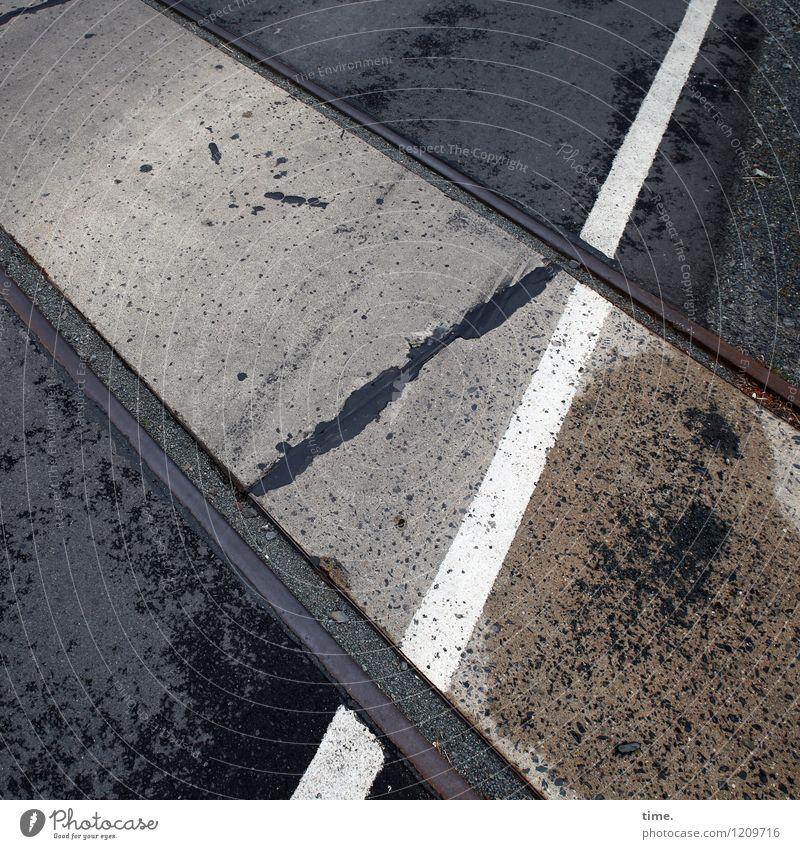 City Street Lanes & trails Time Stone Line Metal Design Arrangement Transport Signs and labeling Perspective Communicate Wet Transience Illustration