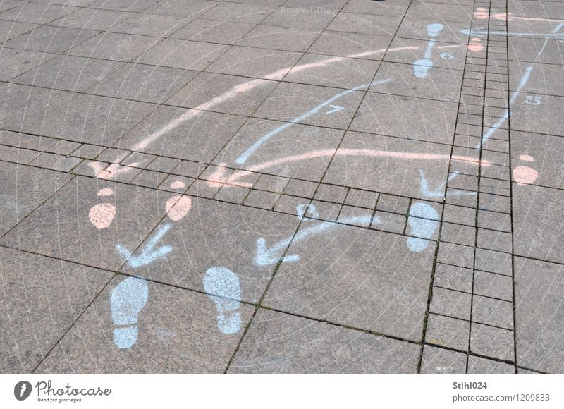 Waltz - Step sequence Style Joy Athletic Harmonious Dance Dancer Places Stone Sign Signs and labeling Footprint Line Arrow Touch Movement Relaxation To hold on