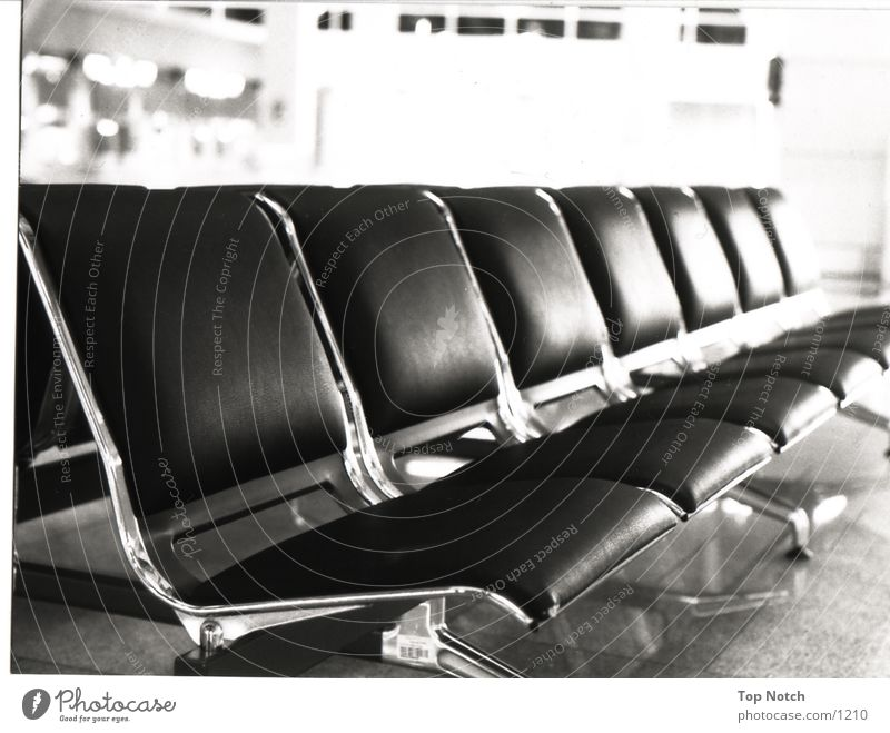 seating group Architecture Seating Sit Black & white photo Perspective