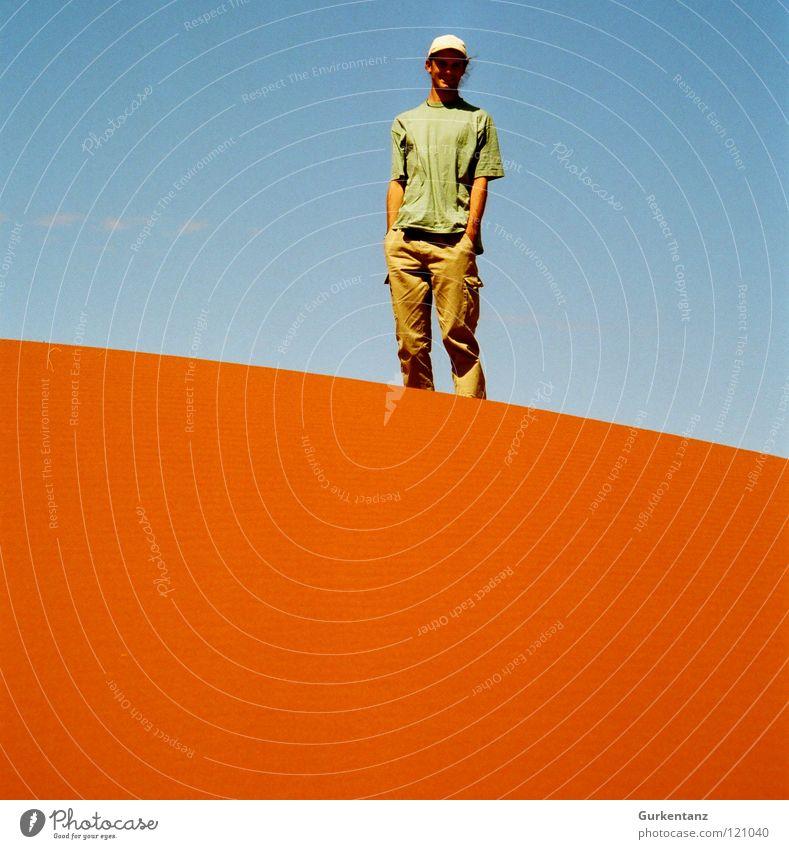 Sky Blue Red Vacation & Travel Colour Sand Orange Horizon Earth Desert Beach dune Australia Mars Outback Alice Springs