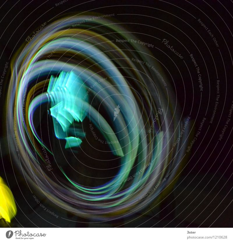 Art Network New Year's Eve Stress Rotate Neon light Senses Visual spectacle Circle Neon Swirl Cardiovascular system Information Technology Emotions Glowstick
