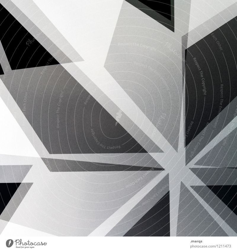 Star modern Elegant Style Design Line Stripe Star (Symbol) Exceptional Cool (slang) Hip & trendy Uniqueness Modern Crazy Chaos Arrangement Irritation