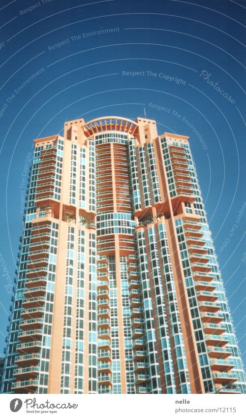 Sky House (Residential Structure) Architecture High-rise Florida Miami