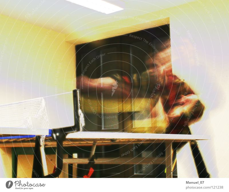 Joy Playing Movement Time Speed Table Athletic Tennis Distorted Table tennis
