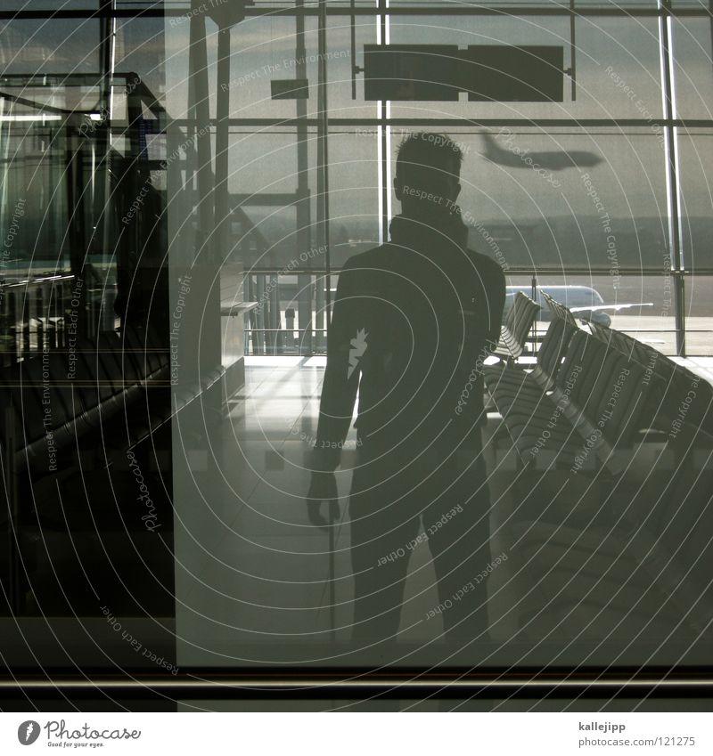 Back Reflection Window Vacation & Travel Business trip Air miles Passenger Platform Luggage Commuter trains Underground Station Corner Graf Adolf Platz