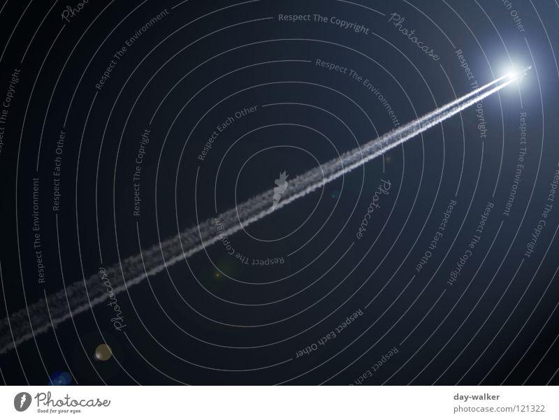 Sky Nature Blue White Sun Dark Aviation Communicate Speed Airplane Universe Discover Radiation Moon Firecracker Dazzle