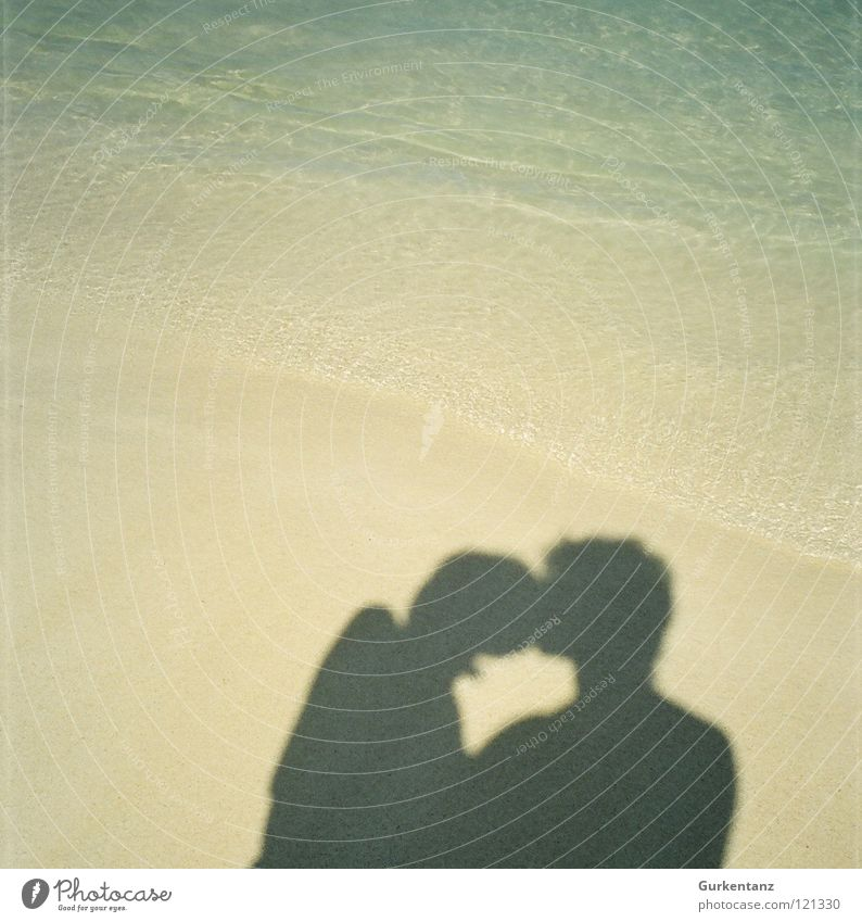 Ocean Beach Love Coast Happy Sand Couple Together In pairs Trust Kissing Infatuation Cuba Relationship Lovers Harmonious