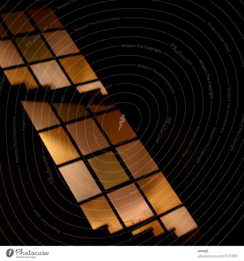 Black Yellow Dark Lighting Orange Crazy Stairs Modern Corner Obscure Illustration Geometry Staircase (Hallway) Graphic Rectangle